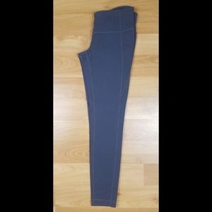 Athleta Leggings Medium Full Length Gray
